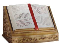 Open Bible Urn