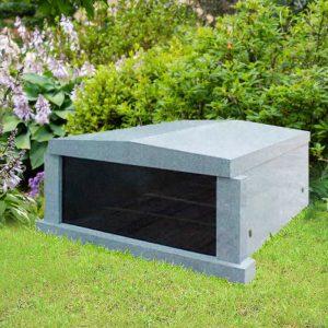 Gray Granite Mausoleum