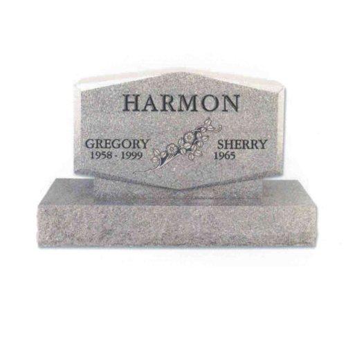 Gray Granite Monument