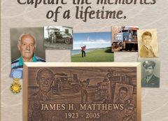 Lasting Memories Bronze Grave Marker