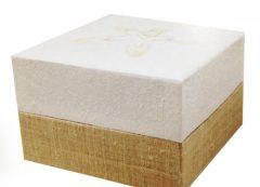 White Linen Urn