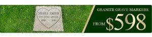 A Monument & Casket Depot Bronze Grave Markers Sale