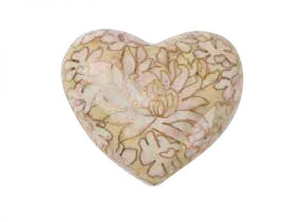 Opal Cloisonne Heart
