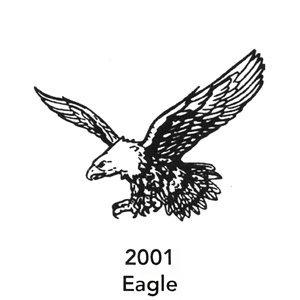 2001 Engraved Eagle Design