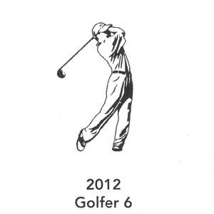 2012 Engraved Golfer 6 Design