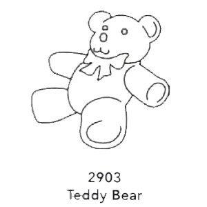 2903 Engraved Teddy Bear Design