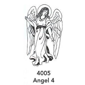 4005 Engraved Angel 4 Design