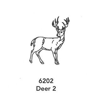 6202 Engraved Deer 2 Design