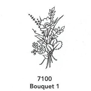 7100 Engraved Bouquet 1 Design