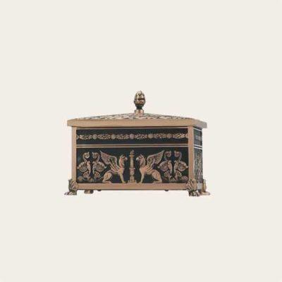 Sarcophagus Cast Bronze