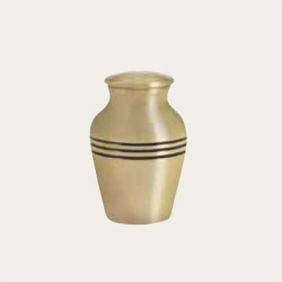 Metal Genoa Brushed Bronze Keepsake Urn