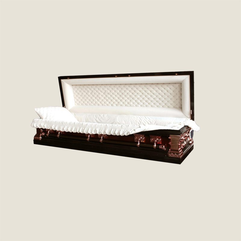 18 Gauge Gasketed Full Couch Copper Casket