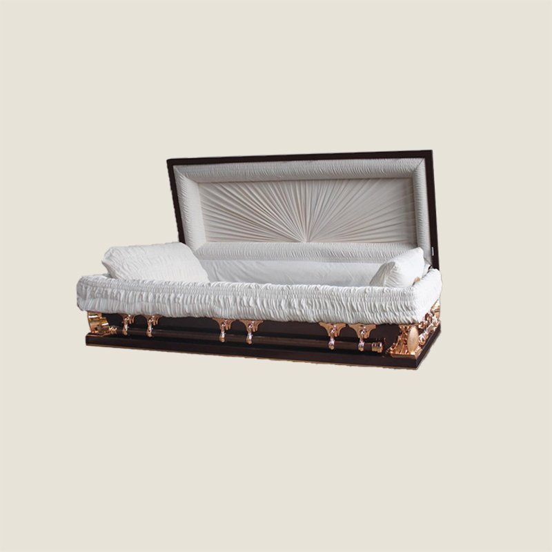 18 Gauge Gasketed Full Couch Brown Multi Size Casket