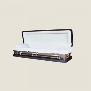18 Gauge Gasketed Full Couch Bronze Casket