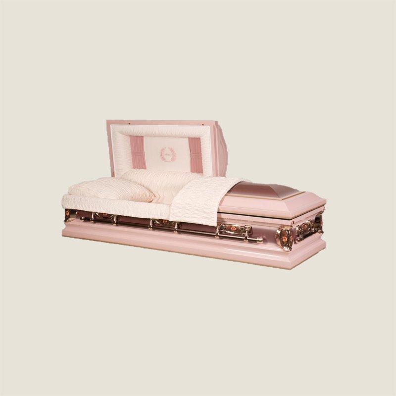 18 Gauge Gasketed Pink Mother Casket