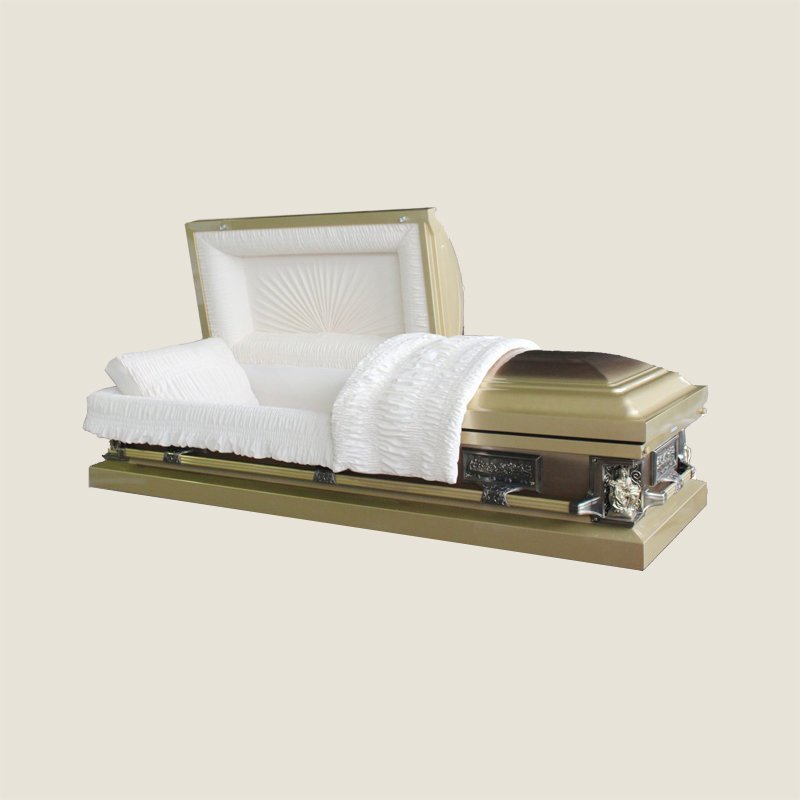 18 Gauge Gasketed Yellow Gold Casket