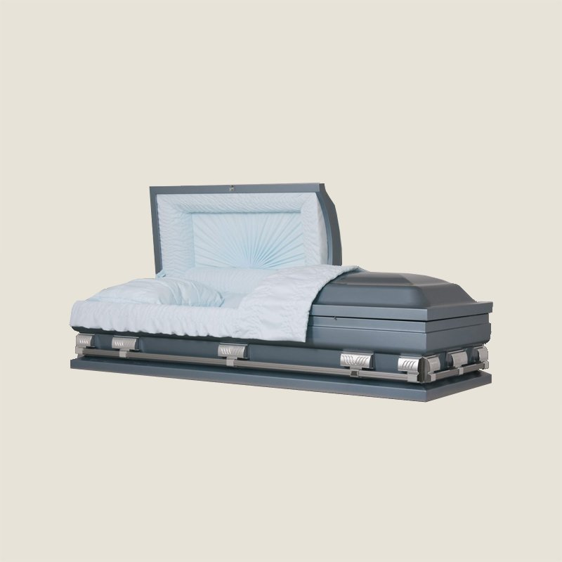 20 Gauge Non Gasketed Blue Casket