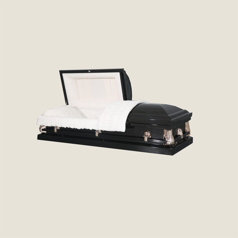20 Gauge Non-Gasketed Half Couch Dark Bronze Casket