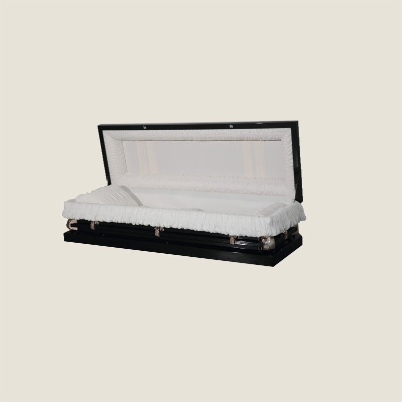 20 Gauge Non-Gasketed Dark Bronze With Ivory Crepe Casket