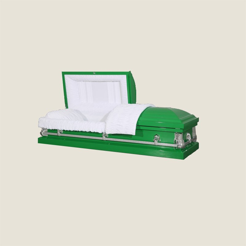 20 Gauge Non-Gasketed Light Green Casket