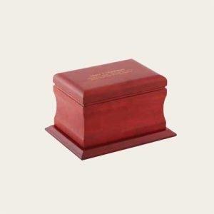 Elegant Wood Amherst Cherry Urn