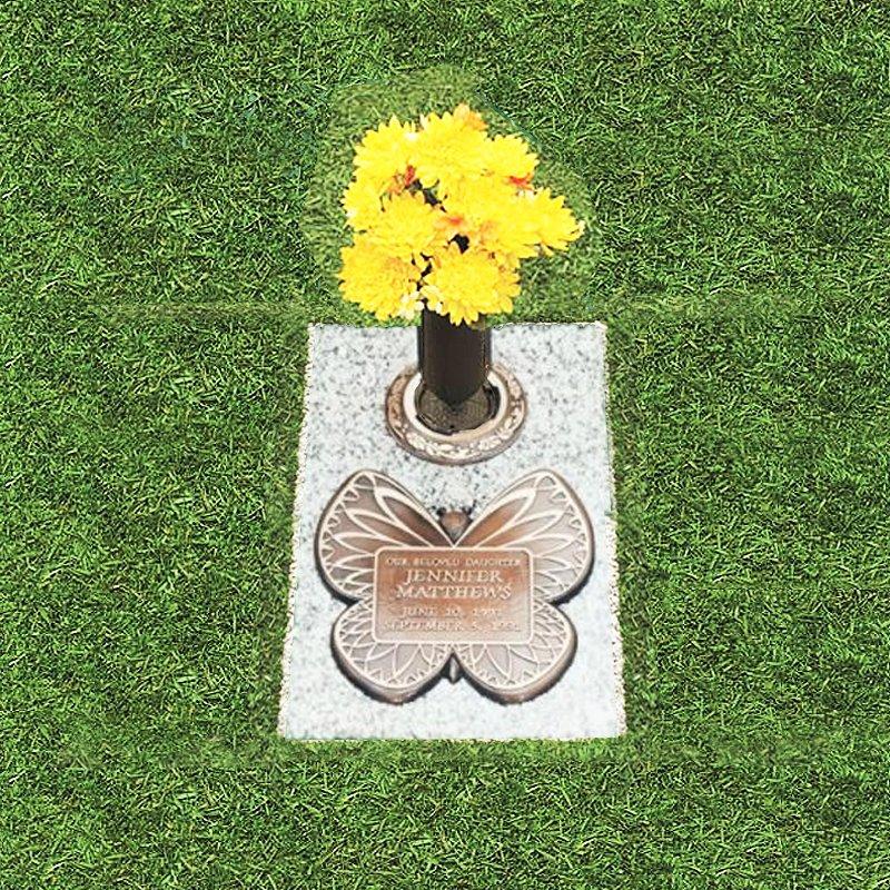 Bronze Butterfly Grass Marker