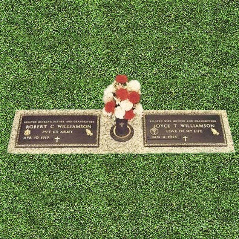 Bronze Double Grass Marker