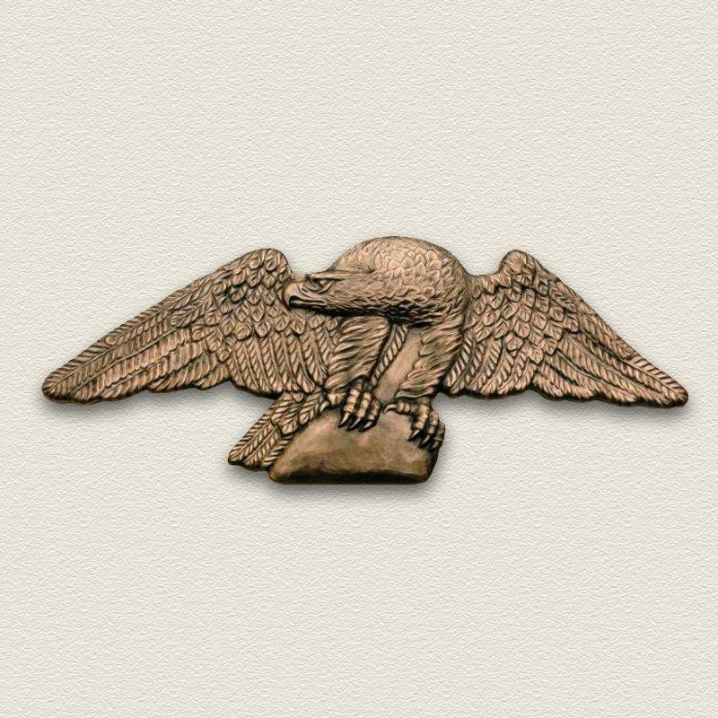 Bronze Eagle Architectural Sign