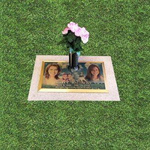 Custom Porcelain Photo Bronze Marker