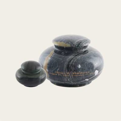 Natural Stone Glade Mist Solid Marble Urn