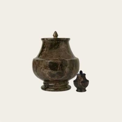 Natural Stone Mallorca Solid Marble Urn