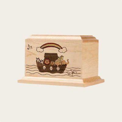 Infant Noah's Ark Maple Urn