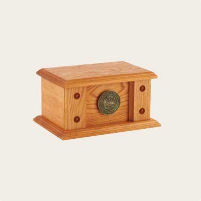 Elegant Wood Norwood Oak Urn