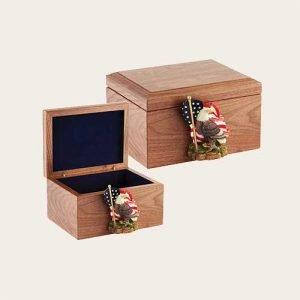 Memory Chest Walnut Memory Box