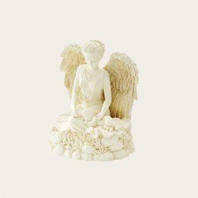 Watchful Angel Infant Keepsake Composite Urn
