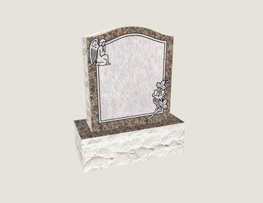 Baby Upright In Composite Granite in Everlasting Mahogany