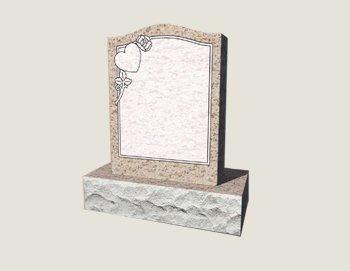 Single Composite Granite in Salisbury Pink