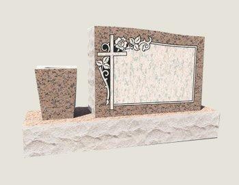 Single Half Composite Granite in Salisbury Pink