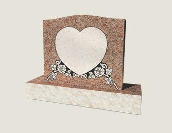 Single Composite Granite in Morning Rose