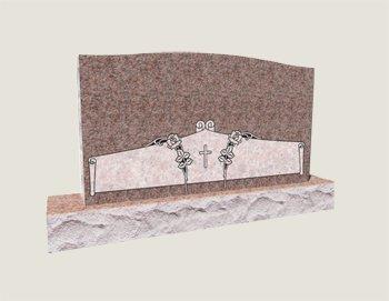 Companion In Composite Granite In Morning Rose