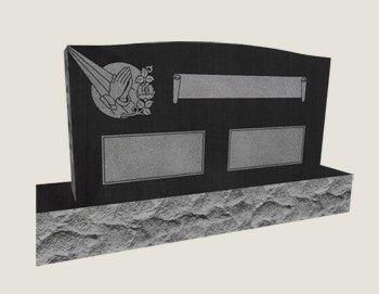 Companion In Composite Granite In Black Veil