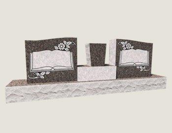Companion Wings In Composite Granite In Everlasting Mahogany