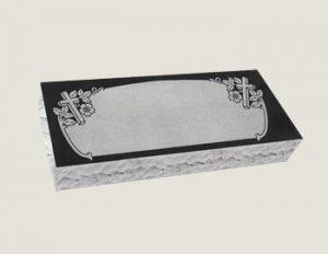 Companion Bevel Marker Composite Granite in Absolute Black