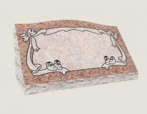 Single Slants In Composite Granite in Morning Rose